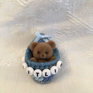 KAITLIN Personalized teddy bear pin-NEW